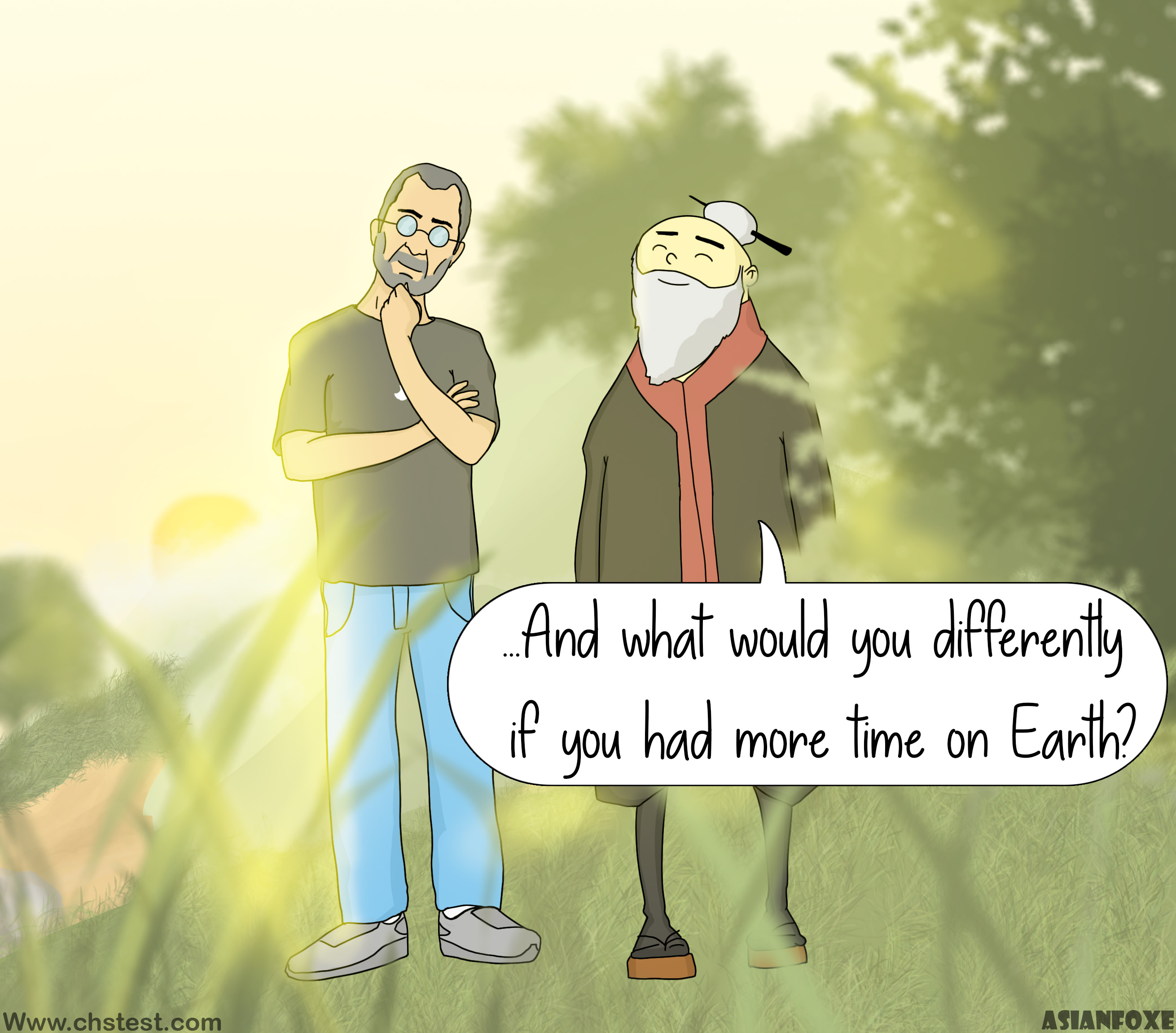 Consciousness: ...And what would you do differently if you had more time on earth?