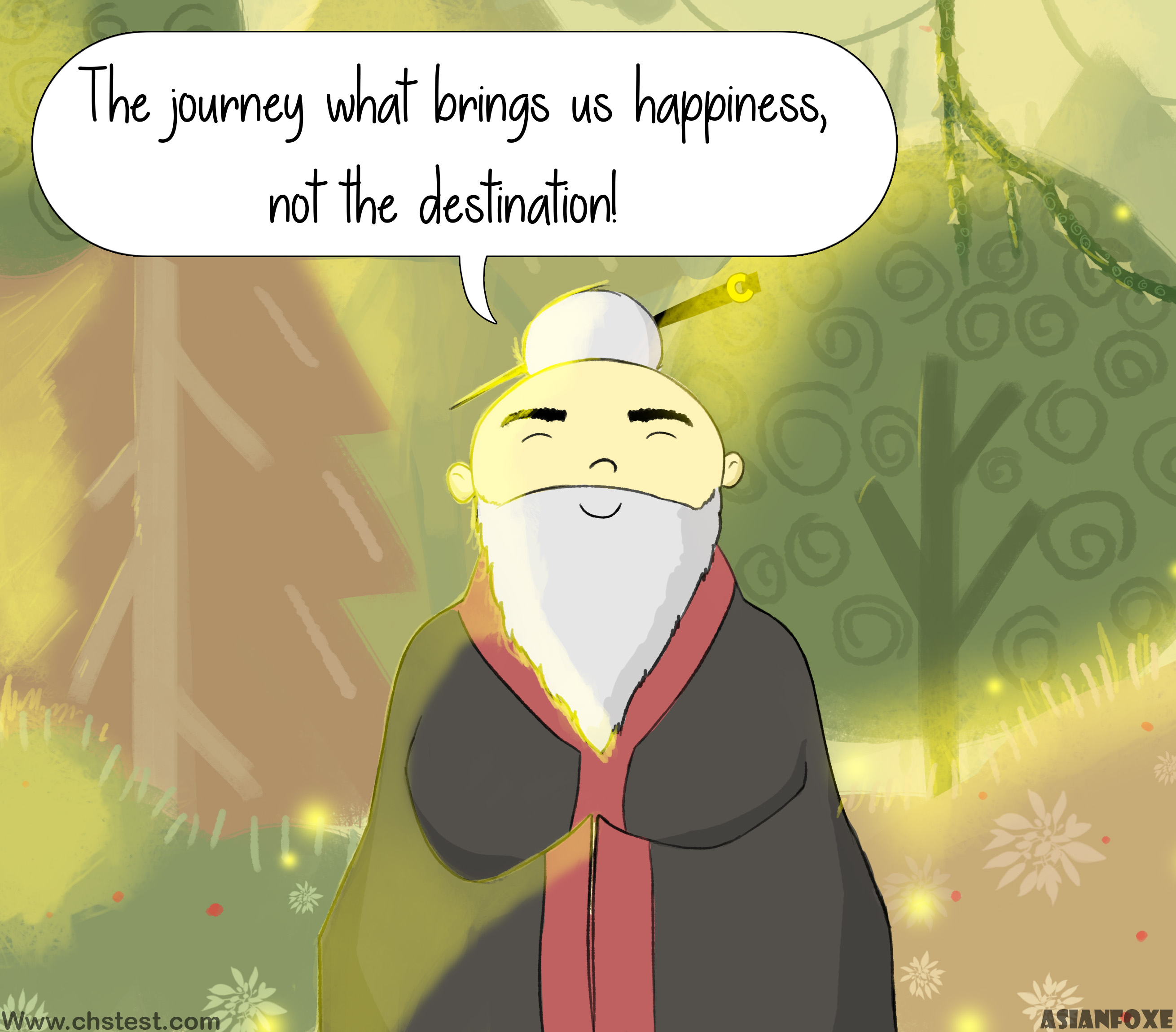 Consciousness: The journey is what brings us happiness, not the destination!